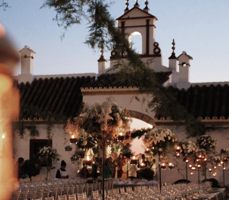 hacienda de bodas al aire libre en sevilla