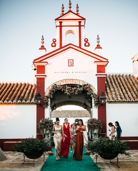 Hacienda de Medina. Tu Hacienda de bodas en Sevilla junto al aeropuerto