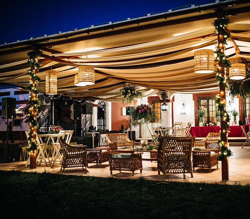 hacienda de bodas al aire libre en carmona