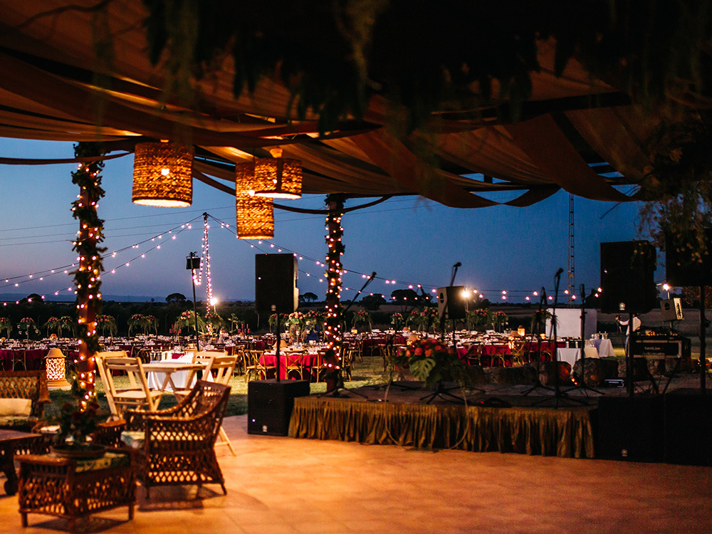 Lugar para celebrar boda al aire libre en Sevilla.